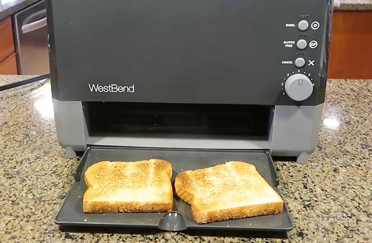 Best slide through toaster