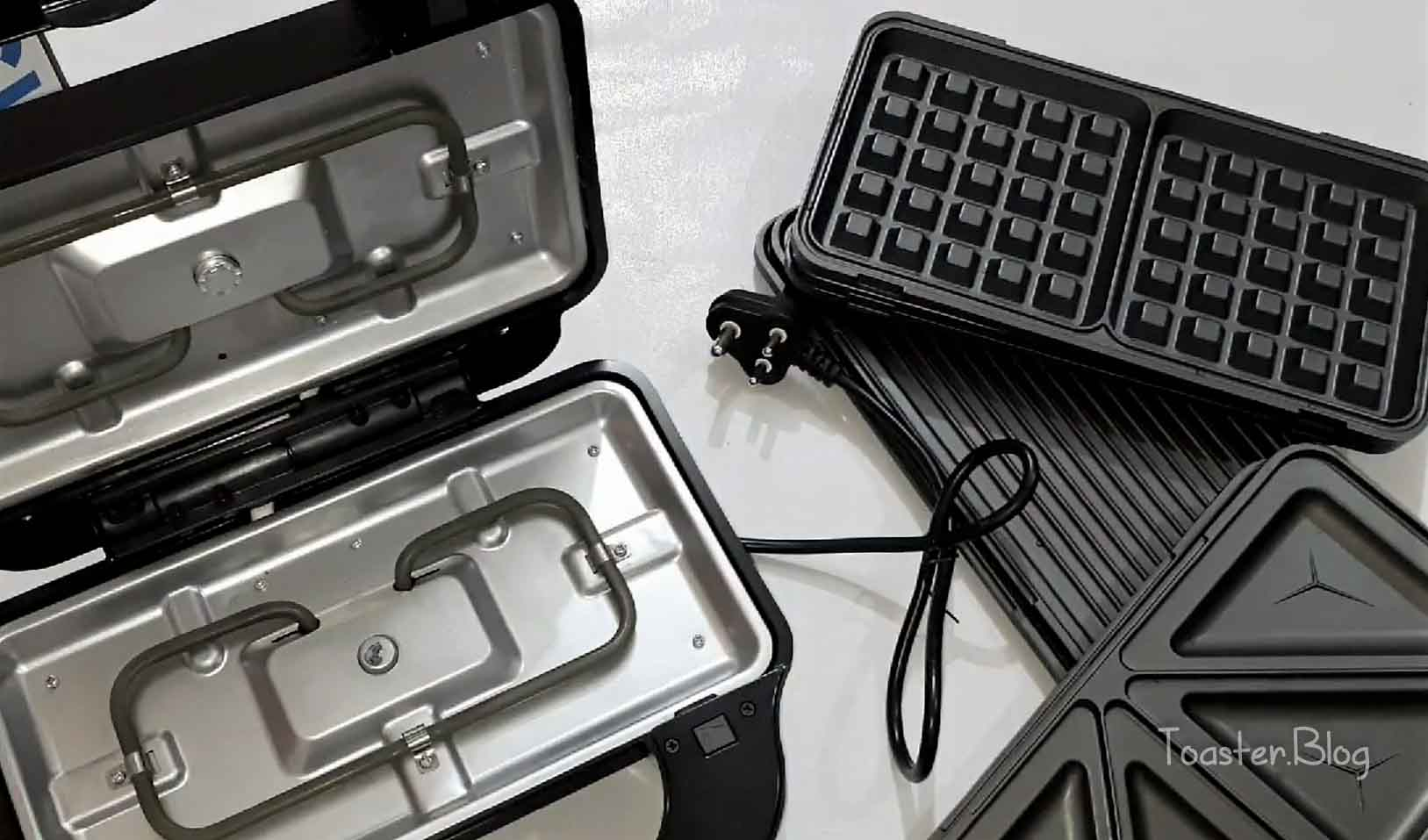 Best toastie maker with removable plates