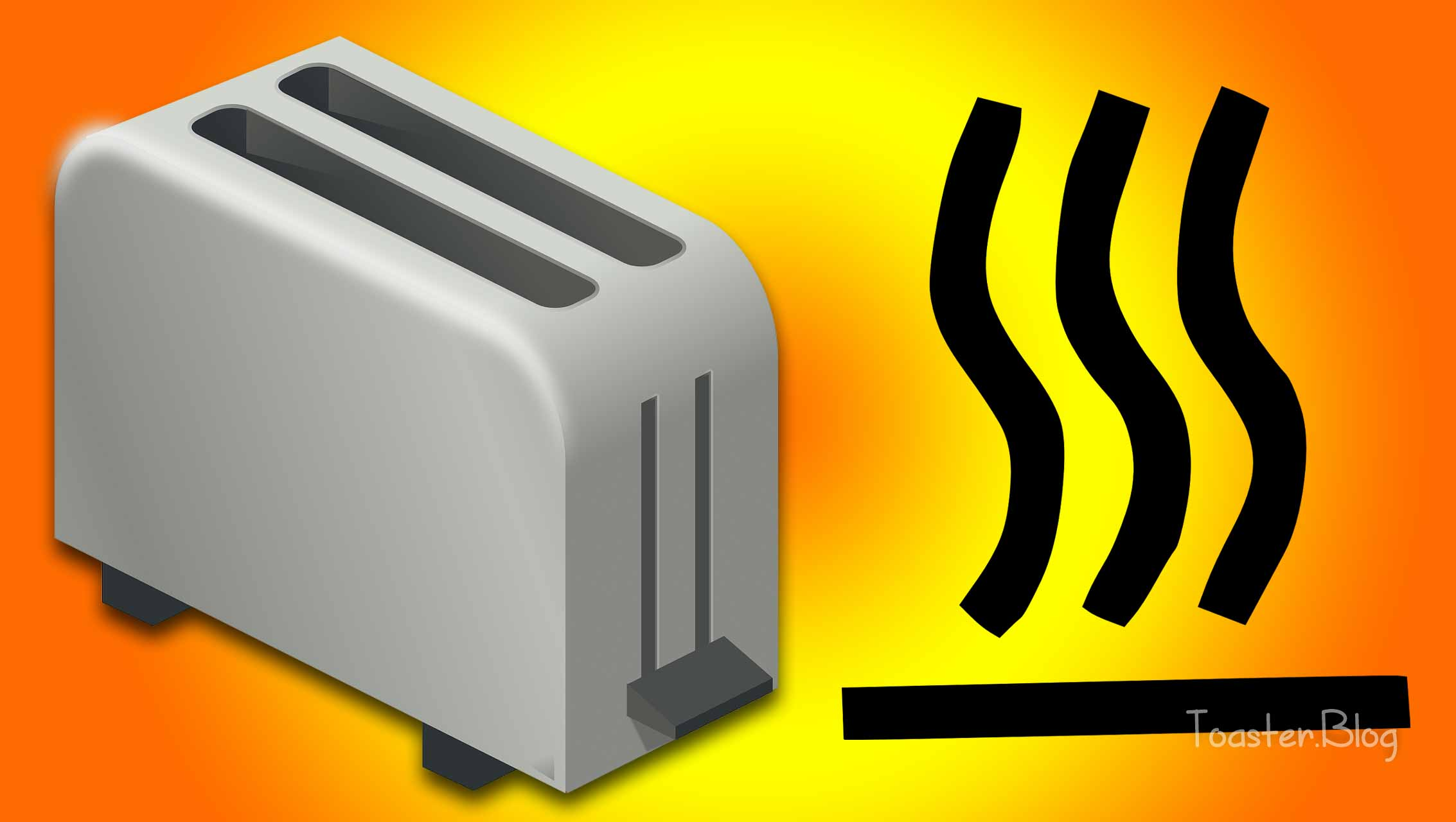 How hot does a toaster get