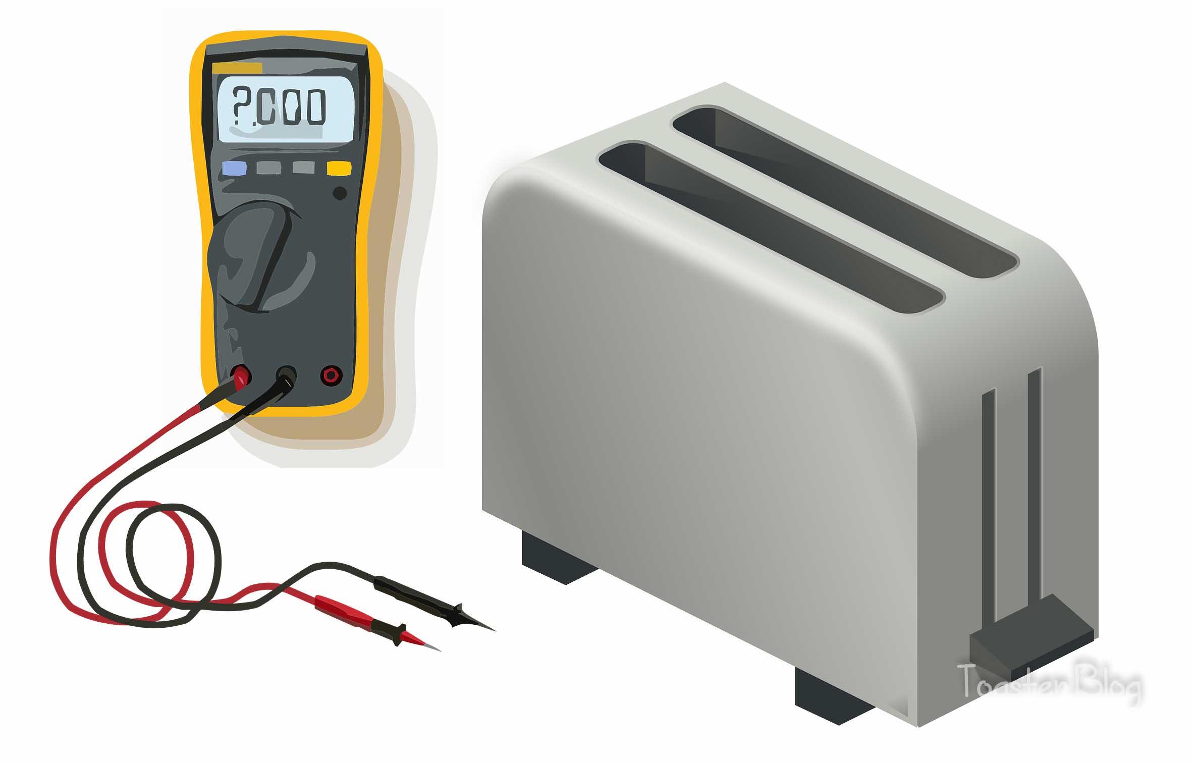 How many watts does a toaster use